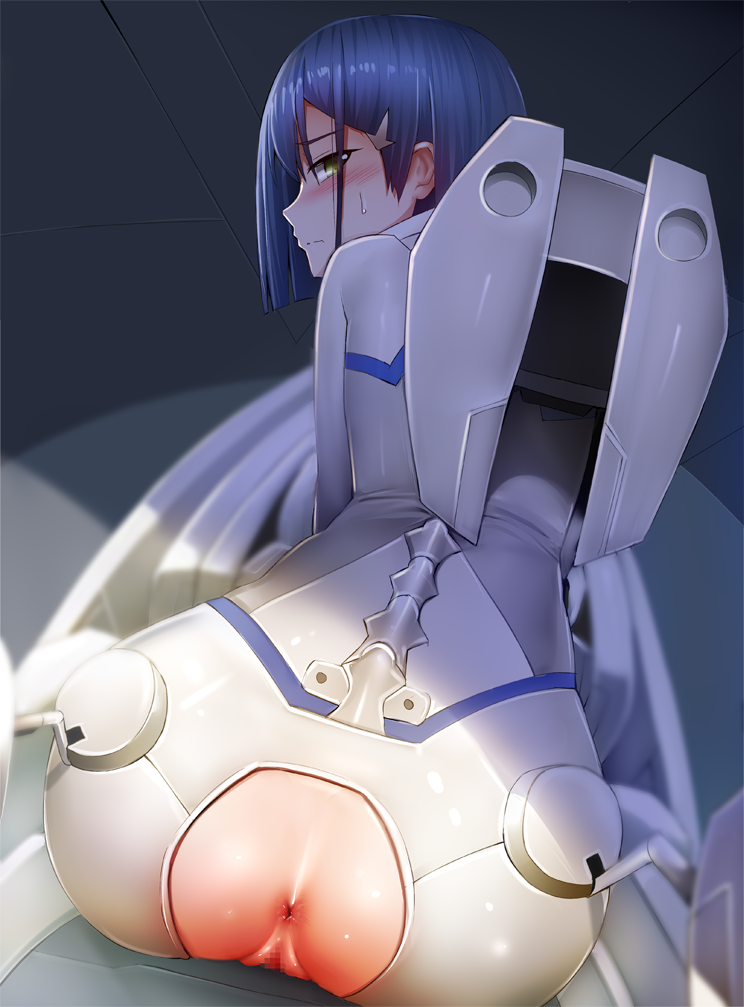 darling in franxx ichigo the crying Creambee - princess pipe trapped