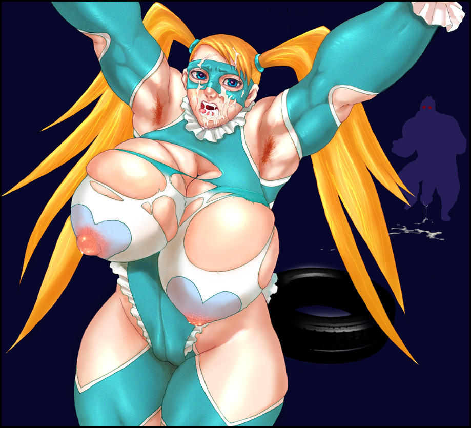 fighter rainbow mika street v The other half