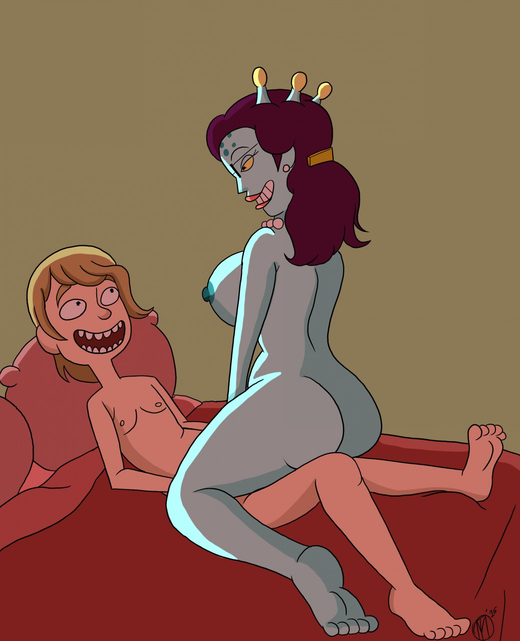 and rick nude smith morty summer Ruby rose and weiss schnee
