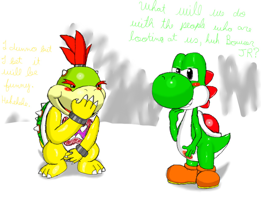 a with day bowser jr Foxy and mangle have a baby fanfiction