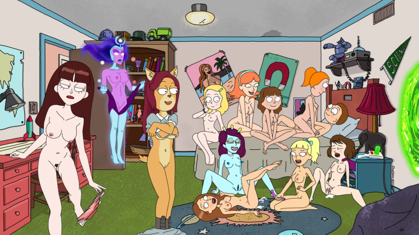 smith nude and rick morty summer Dark souls try tongue but hole