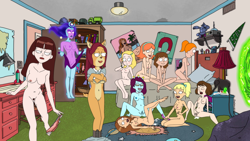 and morty summer nude smith rick Scooby doo meets the boo brothers sadie mae